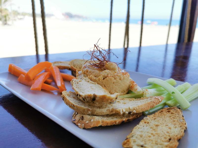 Platos del Restaurante Chiringuito el Madero